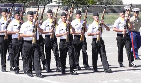 armed drill team.JPG